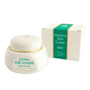 sensitive skin cream a.h.a 8%