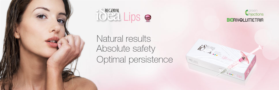 regenyal idea lips - natural results, abolute safety, optimal persistence