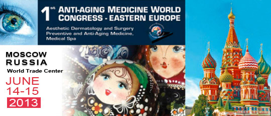 Press - the 1st anti agin medicine world congress eastern europe founded in moscow