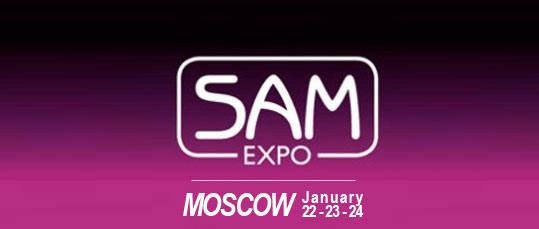 Sam Expo Moscow January 22 23 24