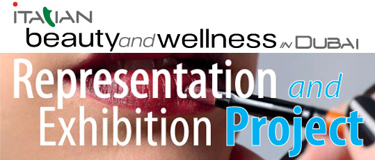 italian beauty and wellness in dubai representation and exhibition project