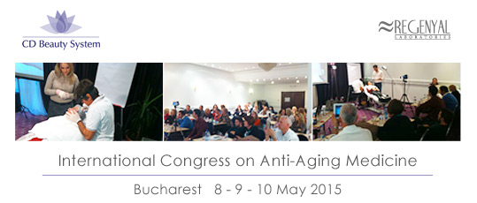 international congress on anti-aging medicine bucharest 8-9-10 may 2015
