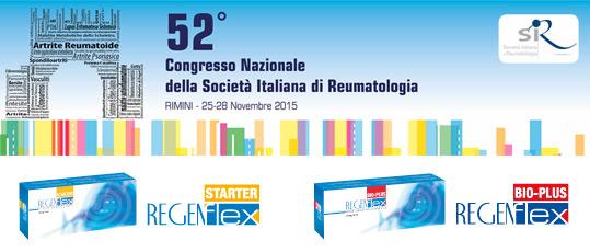 52° Congresso Nazionale della Società Italiana di Reumatologia, Rimini 25-28 Novembre 2015