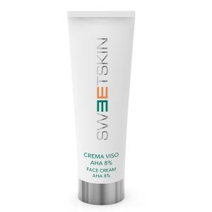 face cream aha 8% sweet skin